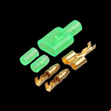 分岐に便利な 二股ギボシ端子 4セット DC12V・24V対応