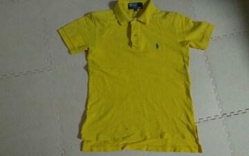 130 イエロー ポロシャツ 美品