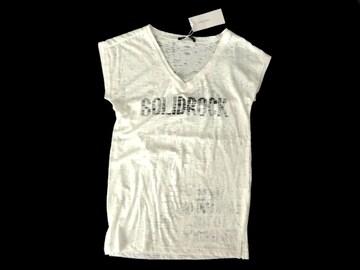 新品 定価1995円 イング INGNI オパール ロゴ 白 Tシャツ M