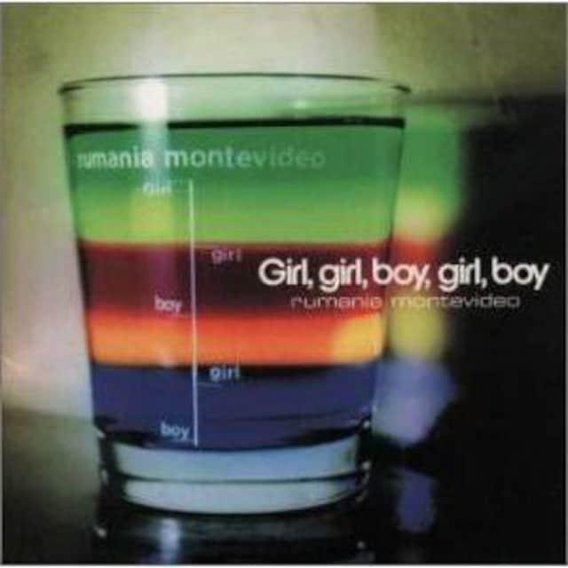 rumania motevideo / Girl,girl,boy,girl,boy  < タレントグッズの