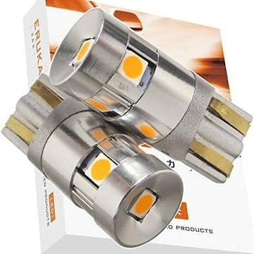 エルカ(Eruka) T10 T16 LED 10-30V対応!! 純正球サイズなのに圧