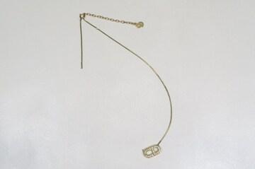 Christian Dior クリスチャンディオール CDロゴ ネックレス