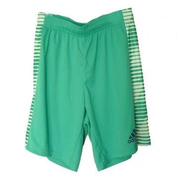 大きいサイズ新品XO★アディダス緑プラクティスハーフパンツ