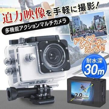 防水ビデオカメラ 自動撮影 動画録画-k/7