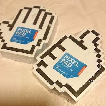 PIXEL PAD メモ帳2冊セット 新品未使用