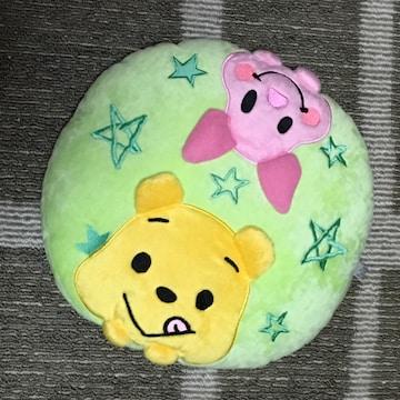 ディズニー・プーさん&ピグレットもっちり円型クッション