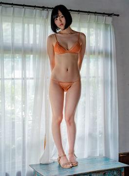 ■涼森れむ■ビキニ水着 美脚スレンダー 生写真(即決)16