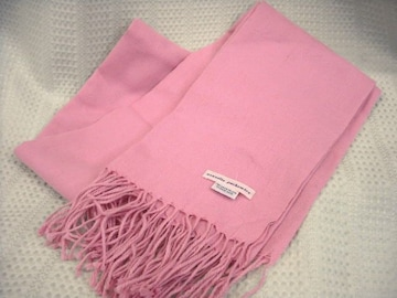 【セラヴィ】ピンクのパシュミナです