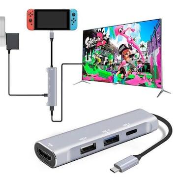 USB C Type-c ハブ 4K Type C-HDMI