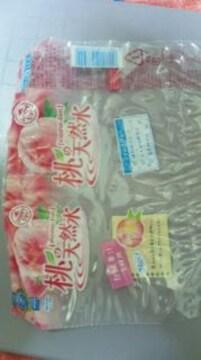 桃の天然水 ラベル1枚のみ 1円スタート 1スタ