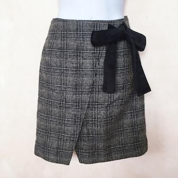 送料188円 切手可 マジェスティックレゴン リボン付 スカート