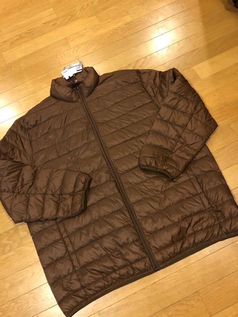 B&TCLUB HYBRID DOWNジャケット超大きいsize 3XL  茶系  < 男性ファッションの