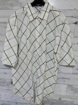 セールRocawearロカウェア★Jay-Zビッグシャツグリーン