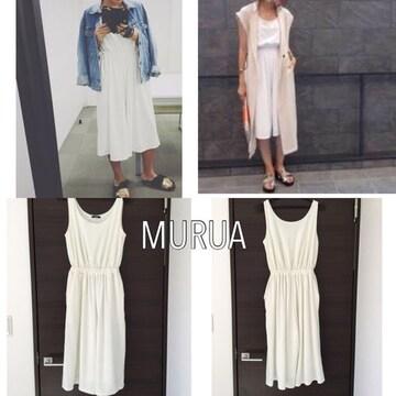 MURUA ガウチョオールインワン ムルーア フリーサイズ