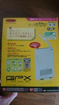 corega 無線LAN ブロードバンドルーター GPX コレガ