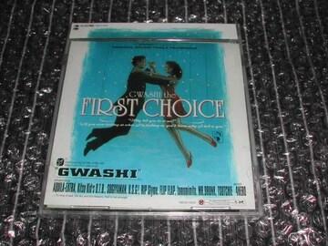 GWASHI『FIRST CHOICE』廃盤美品(RHYMESTER,SHAKKAZOMBIE,4HERO