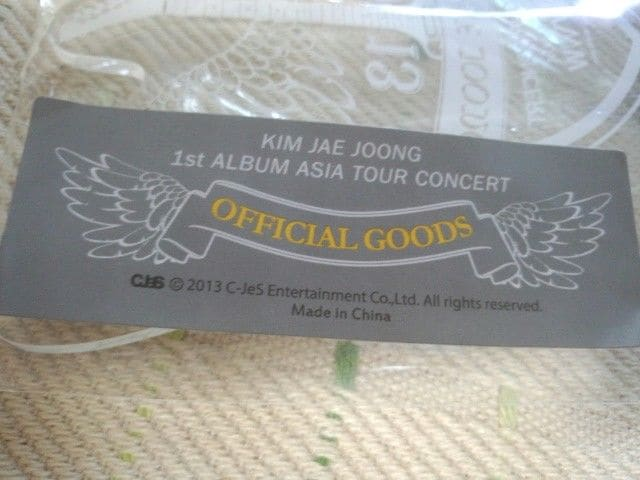 *Kim JAE JOONG  ASIA TOUR CONCERTWWWペンライト < タレントグッズの