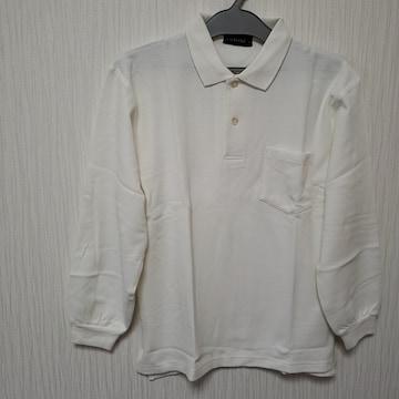 140cm LIEBLING ポロシャツ 長袖 ホワイト