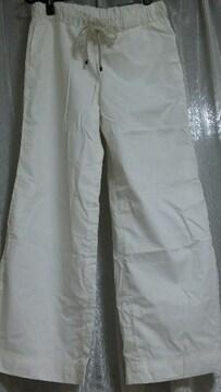 美品 アバハウス 白 ホワイト パンツ 美ライン