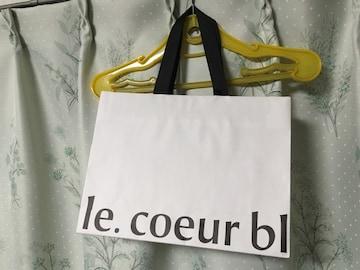 ルクールブラン/le.coeur blanc ショップ袋 紙袋 ショッパー