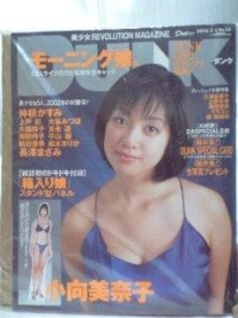 2002年DUNK小向美奈子付録付