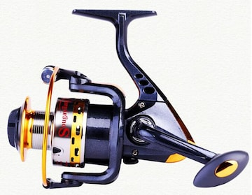 新品 フィッシングスピニングリール YB5000  ブラック