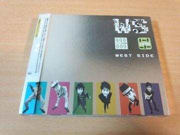 ウエストサイドCD「WS」WEST SIDE横山輝一P 初回盤●
