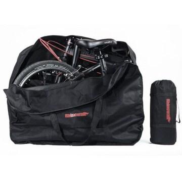 折りたたみ自転車 収納バッグ 16?20インチ対応 ブラック