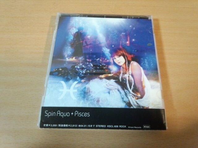 Spin Aqua CD「Pisces」土屋アンナ KAZ(VAMPS)廃盤●  < タレントグッズの