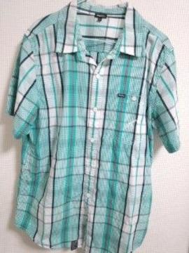 LRG チェックシャツ L キリン