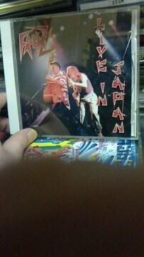 FRENZY/LIVE IN JAPANロカビリーサイコビリークリームソーダフレンジー廃盤
