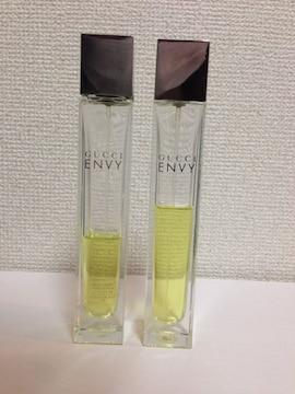 GUCCI グッチ ENVY エンヴィ 廃盤レア香水  50ml 2本セット