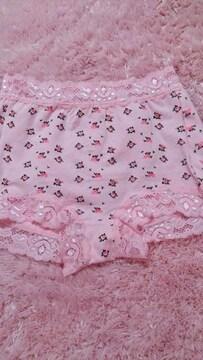 ☆.。.*pink 花柄 ショーツガードル*.。.☆