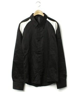 ジェレス バイカラー長袖シャツ
