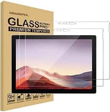 【2枚セット】Newzerol For Surface Pro 7 専用 強化ガラスフィ