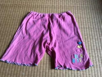 ハローキティ★ハーフパンツ 半ズボン 短パン パジャマ 130 ピンク