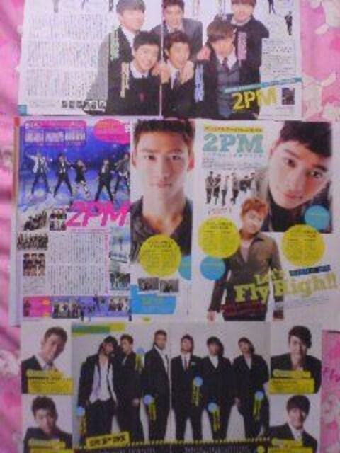 2PMの切り抜き〓10枚  < タレントグッズの