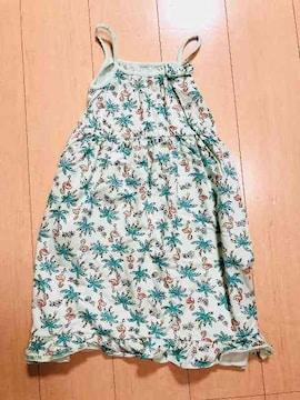 ◆ 超美品 ◆ キッズ kids  140cm ワンピース ポケット付き