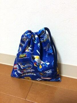 トミカハイパーブルーポリス・給食袋・ハンドメイド
