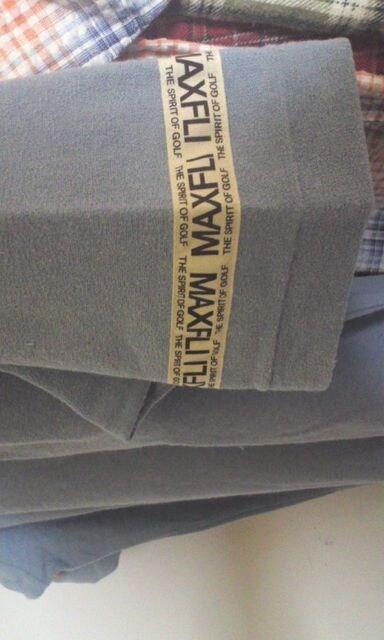 ゴルフ 半袖ポロシャツ   MAYFLI   未使用品 < 男性ファッションの