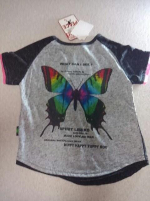 ●hippy happy yuppy BOO● butterfly T 100新品5145円 < ブランドの