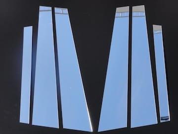 クロームメッキ超鏡面ピラーモール キャデラックCTS AD系