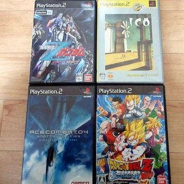 PS24本「エースコンバット/ICO/DBZ/Zガンダム」全部美品