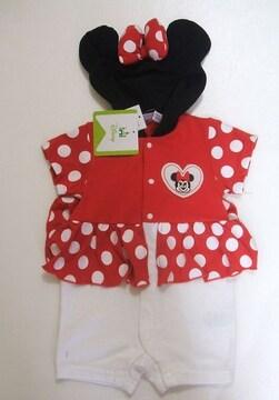 新品ミニーマウスなりきりカバーオールハロウィンベビー服