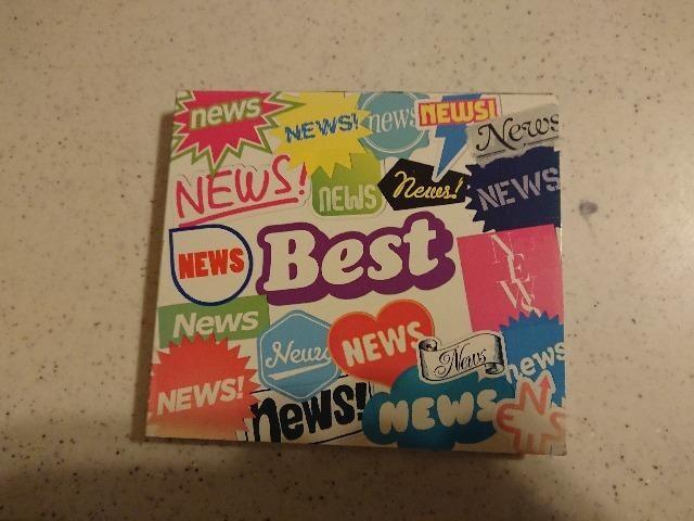 NEWS「BEST」限定ベスト/2枚組/テゴマス  < タレントグッズの