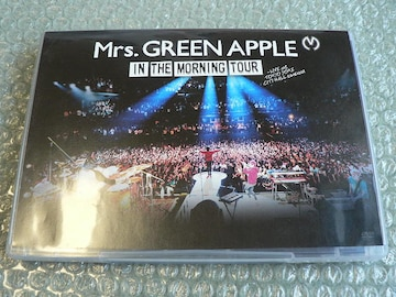 Mrs.GREEN APPLE/In the Morning Tour【2枚組DVD】他にも出品中