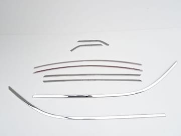 トヨタ アルファード ヴェルファイア 30系 35系  鏡面 ウェザーストリップ 8P ウインド