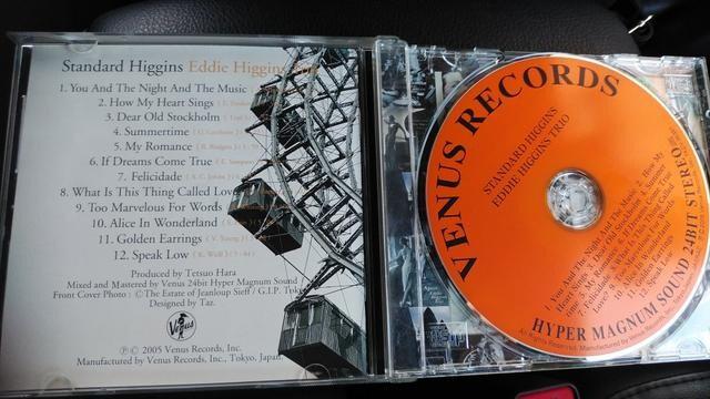 アルバムCD standard Higgins / EddieHiggins Trio  < CD/DVD/ビデオの