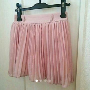 INGNI*プリーツミニスカート*ピンク