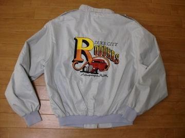 古着 HOT ROD ホットロッド刺繍 ジャケット Lサイズ